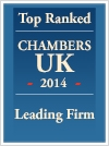 Chambers-UK-2014-Leading-Firm