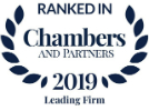 Chambers and Partners - Leading Firm 2019